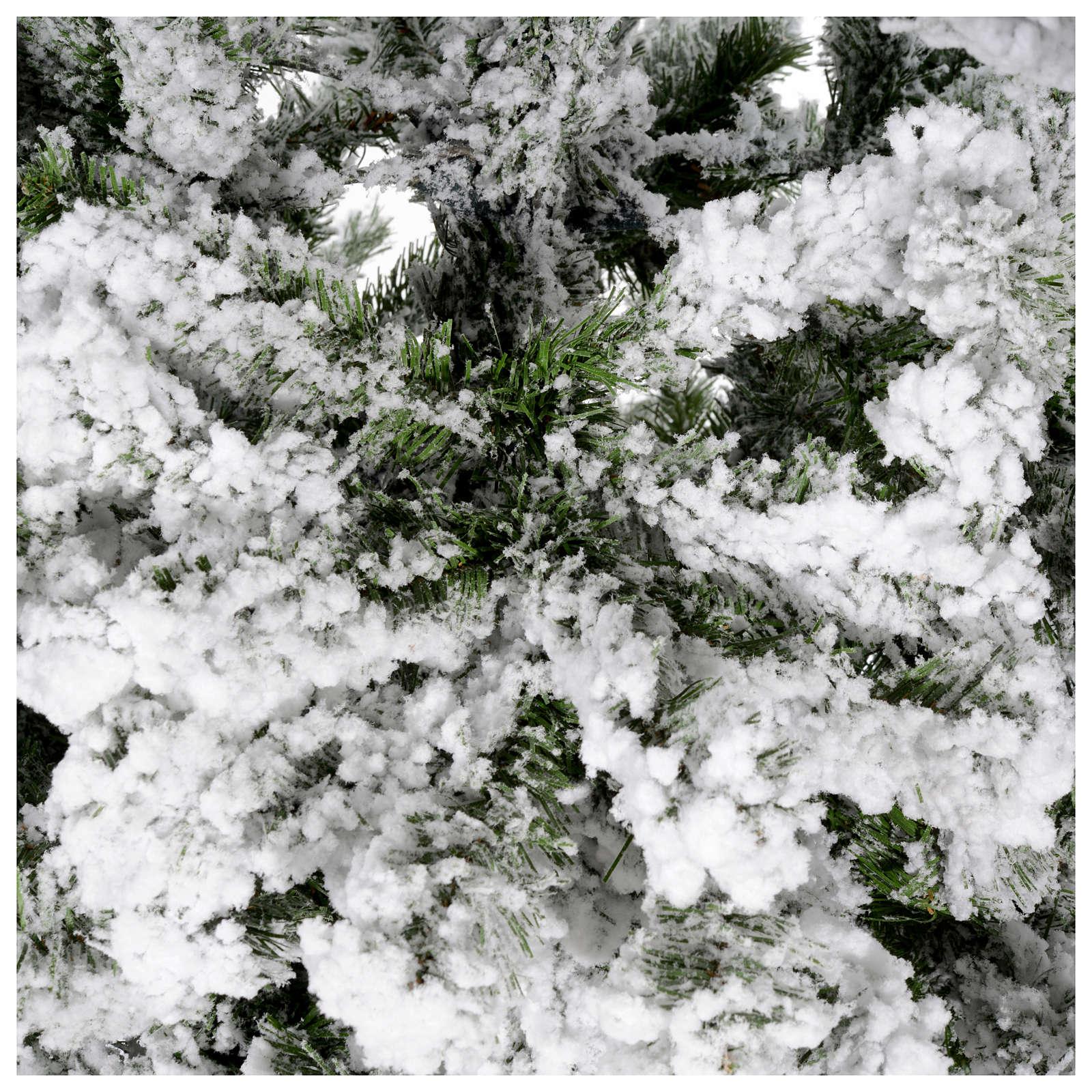 Albero di Natale innevato 180 cm Danzica 3