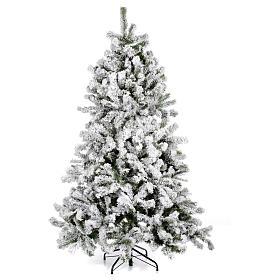 Albero di Natale innevato 180 cm Danzica s1