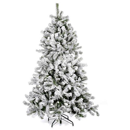Albero di Natale innevato 180 cm Danzica 1