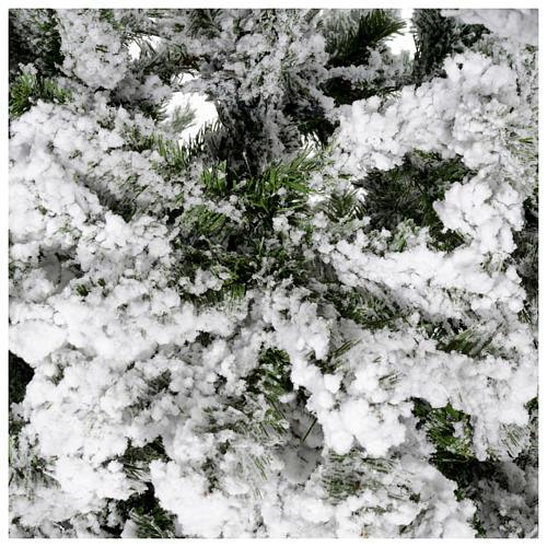 Albero di Natale innevato 180 cm Danzica 4