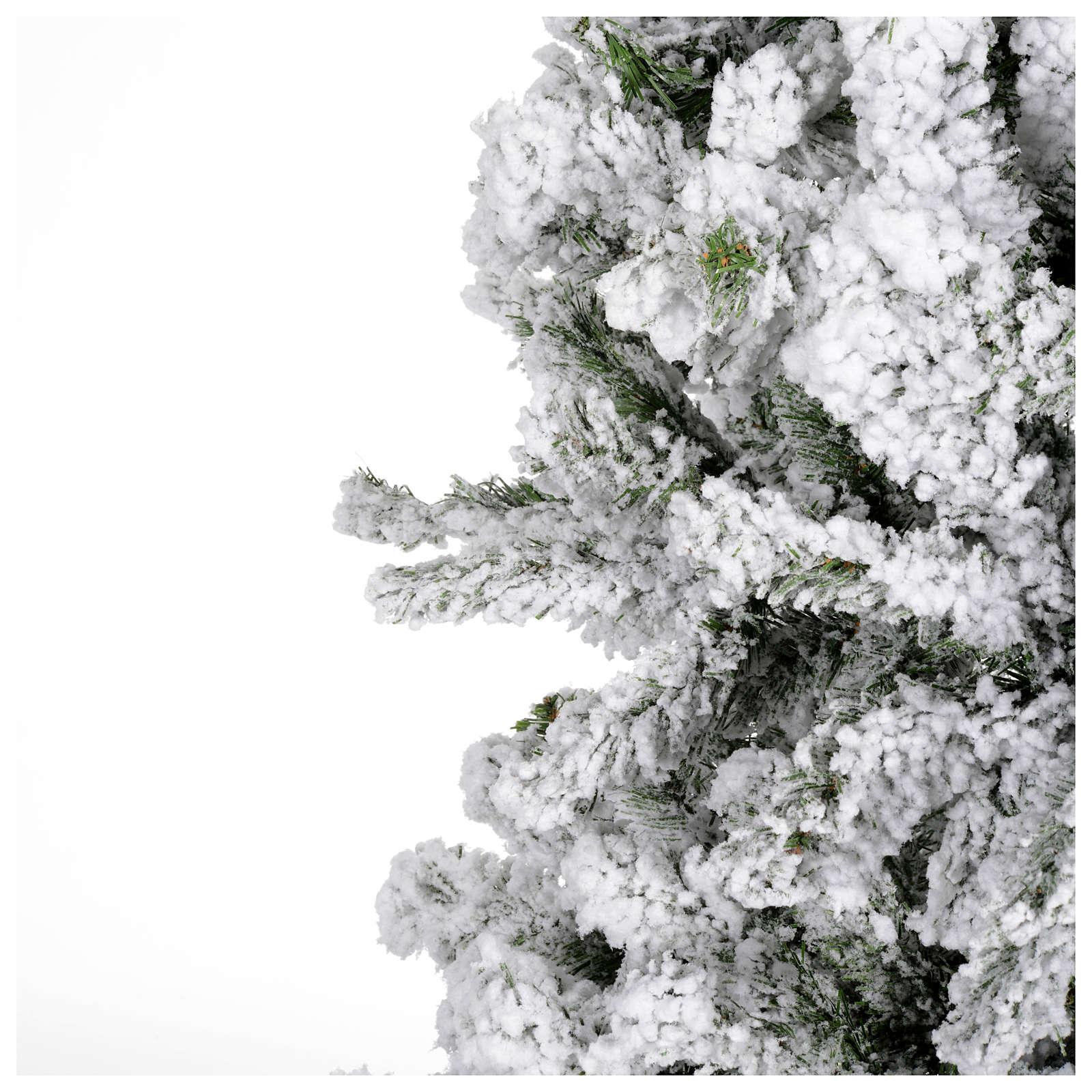 Foto Weihnachtsbaum.Weihnachtsbaum Mit Schnee 230cm Mod Danzica