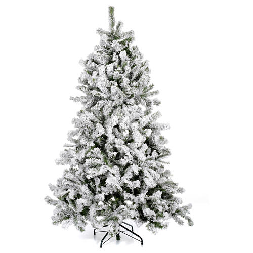 Albero di Natale 230 cm innevato Danzica 1
