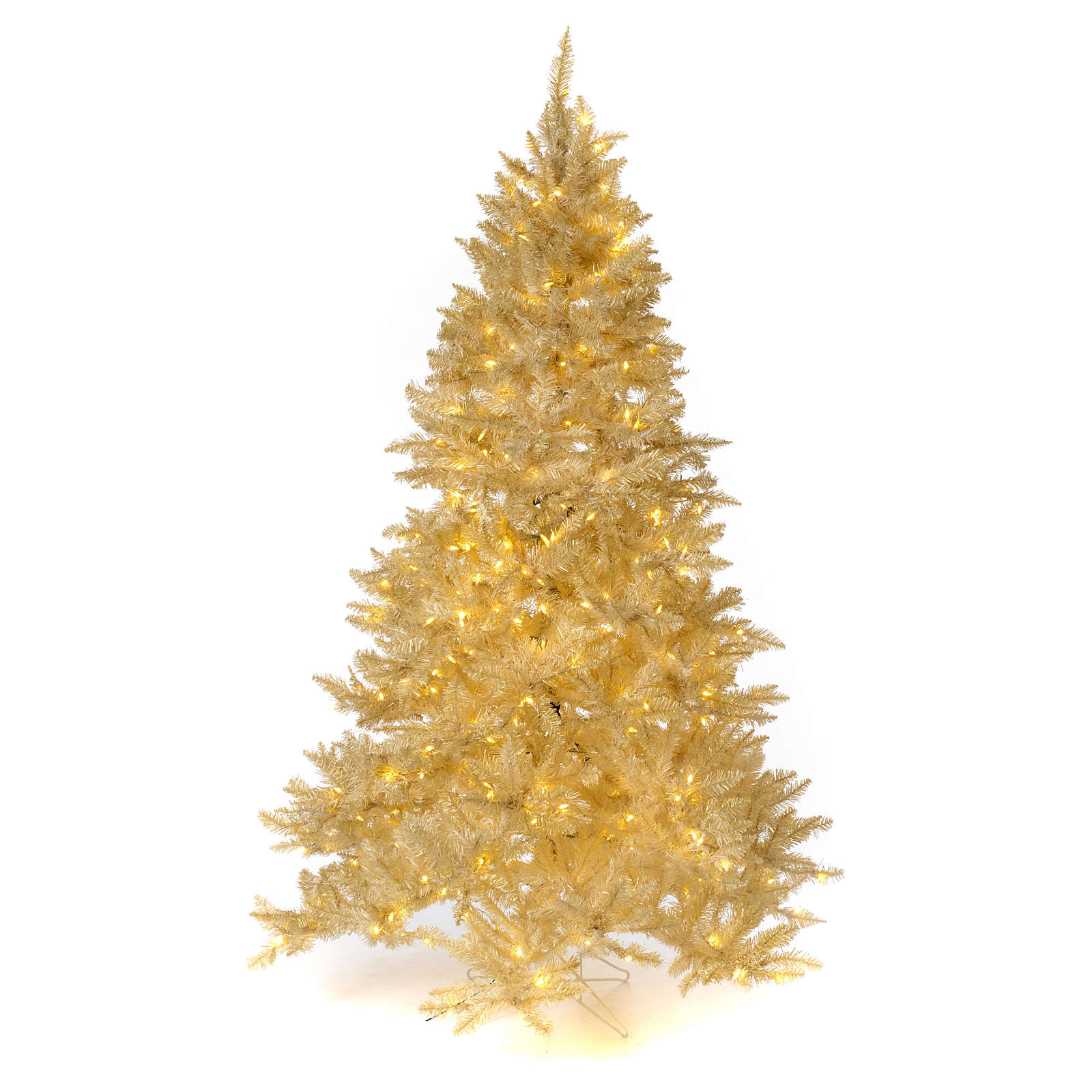 Christmas Tree 200 cm Ivory 400 LED Lights with Gold Glitter Regal Ivory 3