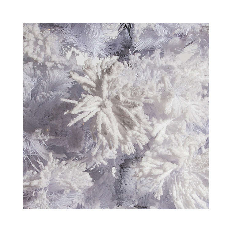 611b7d96c23 STOCK Árbol de Navidad blanco nevado 270 cm luces led 700 modelo White Cloud  3