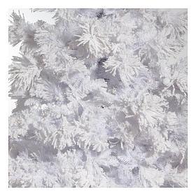 STOCK Albero di Natale bianco innevato 270 cm luci led 700 White Cloud s2