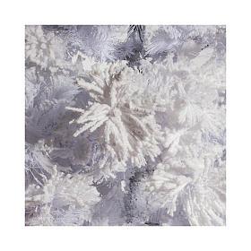 STOCK Albero di Natale bianco innevato 270 cm luci led 700 White Cloud s3
