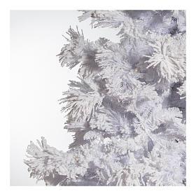 STOCK Albero di Natale bianco innevato 270 cm luci led 700 White Cloud s4