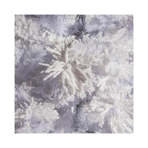 STOCK Albero di Natale bianco innevato 270 cm luci led 700 3