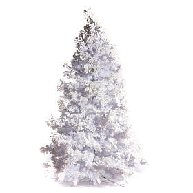 STOCK Christmas tree covered with snow 270 cm with 700 led lights s1