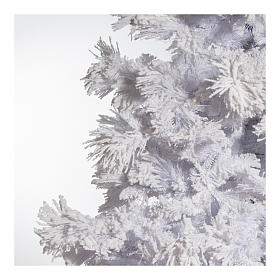 STOCK Christmas tree covered with snow 270 cm with 700 led lights s4