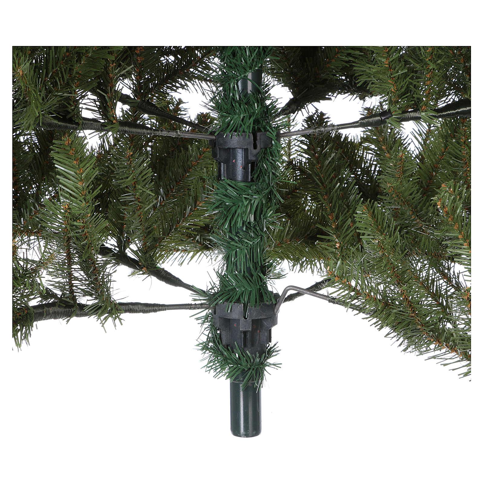 Sapin de Noël 180 cm vert Poly Bayberry technologie feel-real 3
