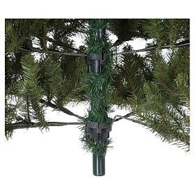 Sapin de Noël 180 cm vert Poly Bayberry technologie feel-real s5