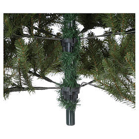Albero di Natale 210 cm verde Poly Bayberry feel real s5