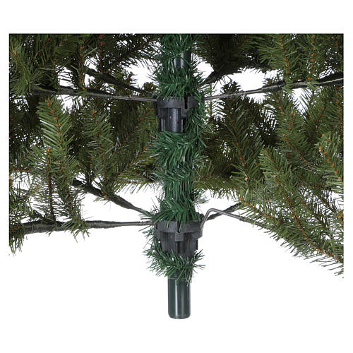 Albero di Natale 210 cm verde Poly Bayberry feel real 5