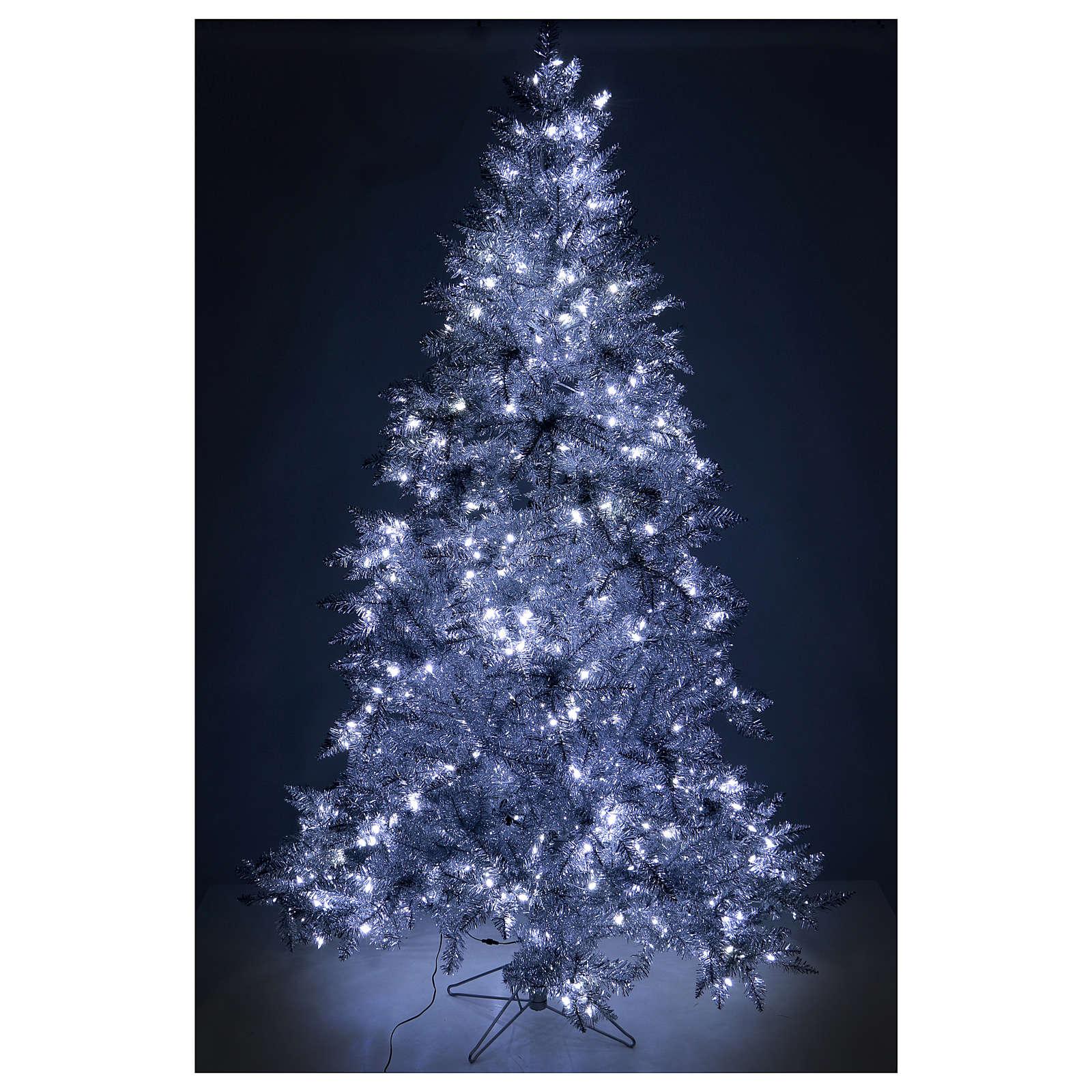 8e735972056 Arbol de Navidad 270 cm Vintage Silver 500 LED uso interior o exterior 3