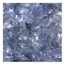 Albero di Natale 270 cm Vintage Silver 500 luci led uso interno esterno s4