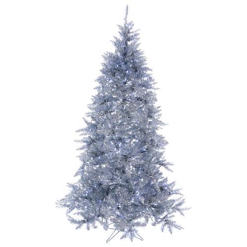 Albero di Natale 270 cm Vintage Silver 500 luci led uso interno esterno 1