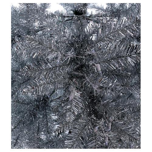 Albero di Natale 270 cm Vintage Silver 500 luci led uso interno esterno 2