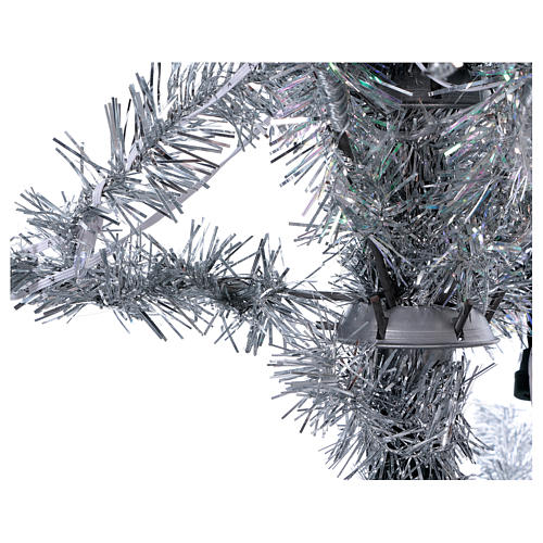 Albero di Natale 270 cm Vintage Silver 500 luci led uso interno esterno 3