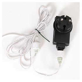 Arbol de Navidad 180 cm Fancy White blanco con punta modelable 300 ECO LED interior exterior s8