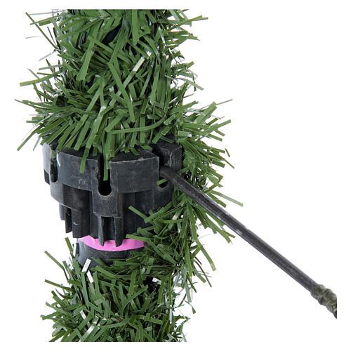 Albero di Natale 225 cm verde Poly Jersey Fraser Fir 5