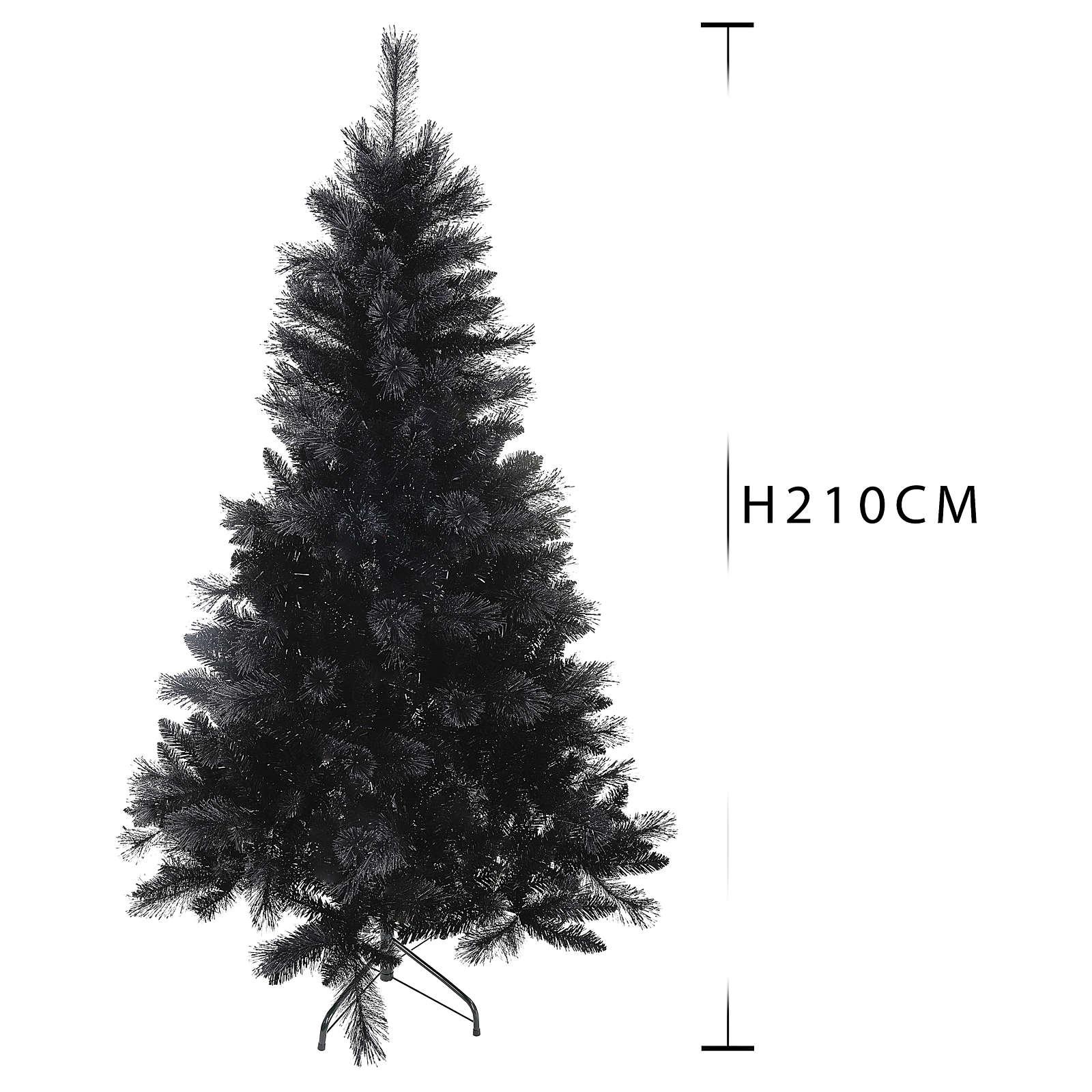 Christmas tree Black Stone 210 cm 3