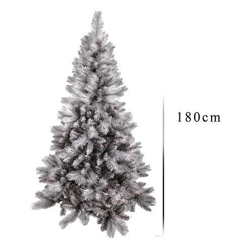 Árbol de Navidad 180 cm Silver Diamond 3