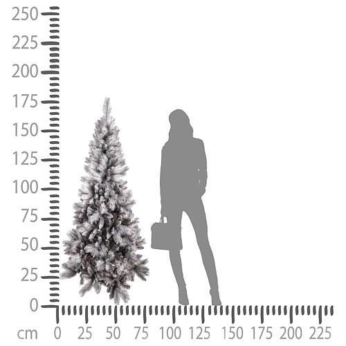 Christmas Tree 180 cm Silver Diamond 4