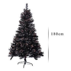 Sapin de Noël Quartz fumé 180 cm s3