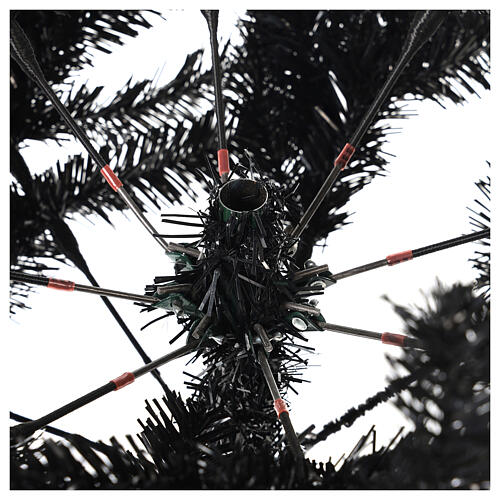 Albero di Natale Quartz Fumè 180 cm 4