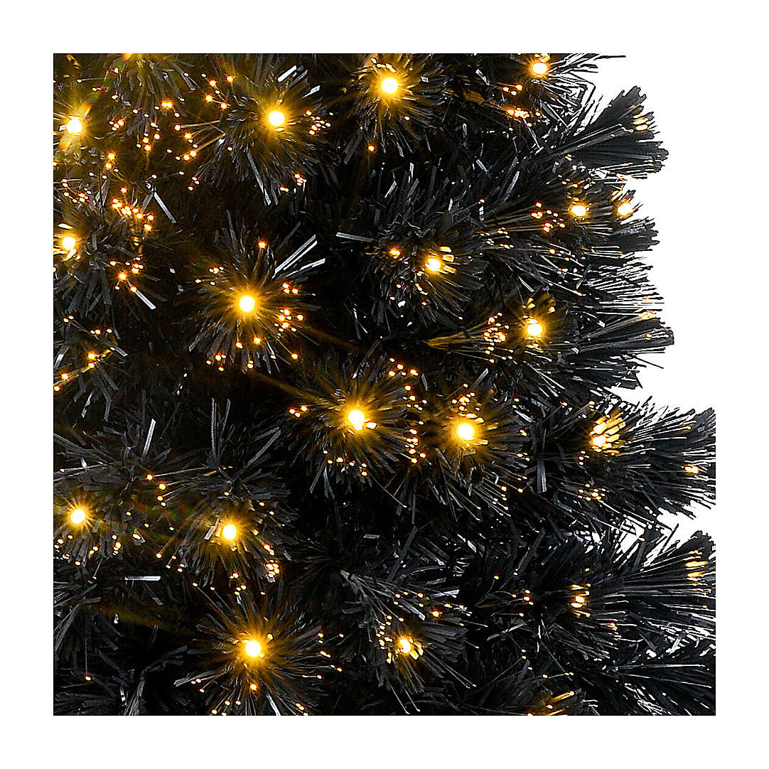 Sapin de Noël Black Shade LED 180 cm slim 3