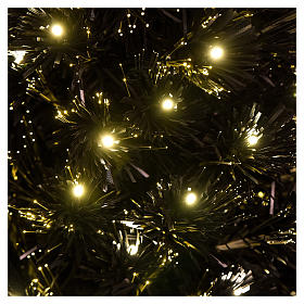Sapin de Noël Black Shade LED 180 cm slim s2