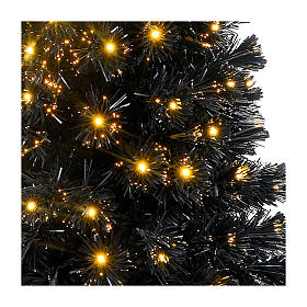 Sapin de Noël Black Shade LED 180 cm slim s4