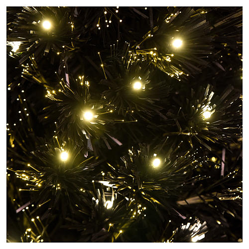 Sapin de Noël Black Shade LED 180 cm slim 2