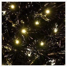 Christmas tree Black Shade 180 cm LED slim s2