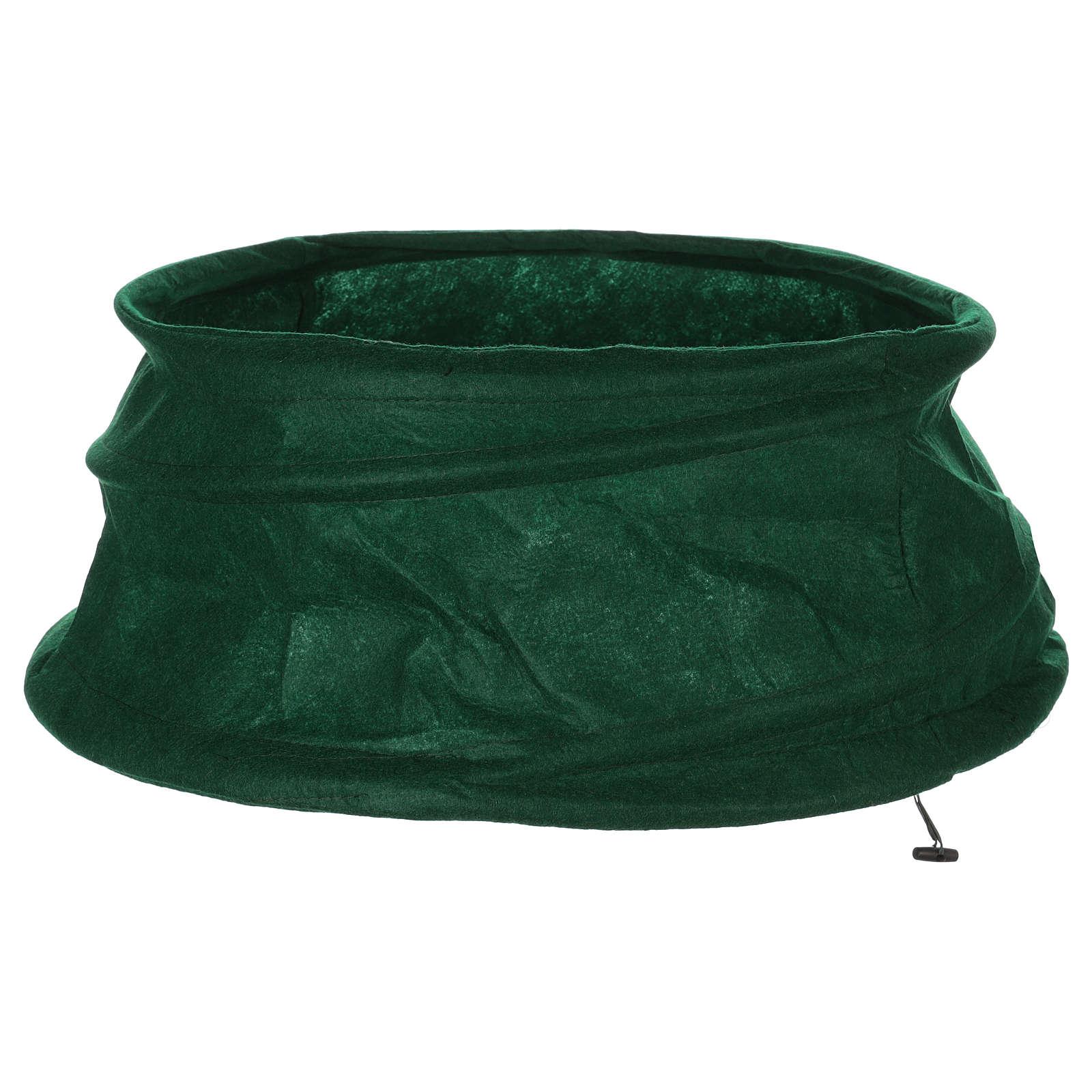 Falda cubre base Árbol de Navidad diám. 68 cm 3