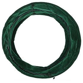 Copribase verde albero di Natale diam. 68 cm s3