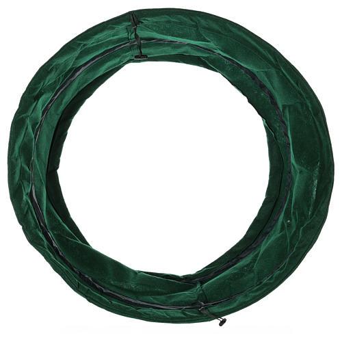 Copribase verde albero di Natale diam. 68 cm 3