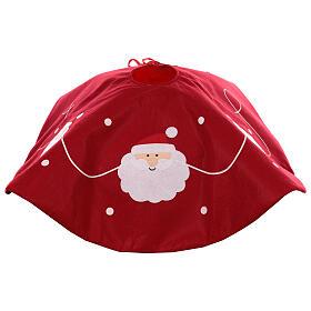 Abdeckung für Weihnachstbaumständer Weihnachtsmann, 90 cm s4
