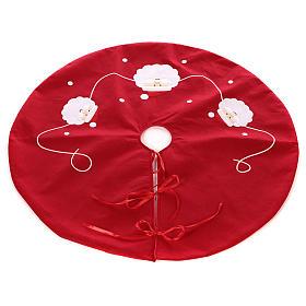 Falda cubre base Árbol Papá Noel diám. 90 cm s3