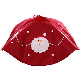 Falda cubre base Árbol Papá Noel diám. 90 cm s4