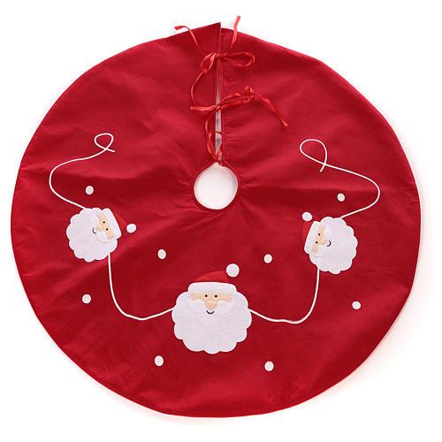 Falda cubre base Árbol Papá Noel diám. 90 cm 1