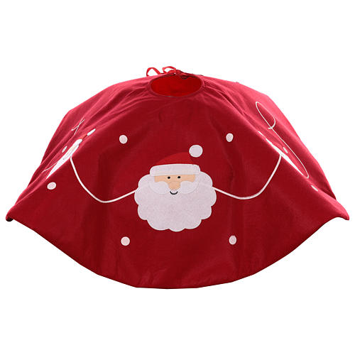 Falda cubre base Árbol Papá Noel diám. 90 cm 4
