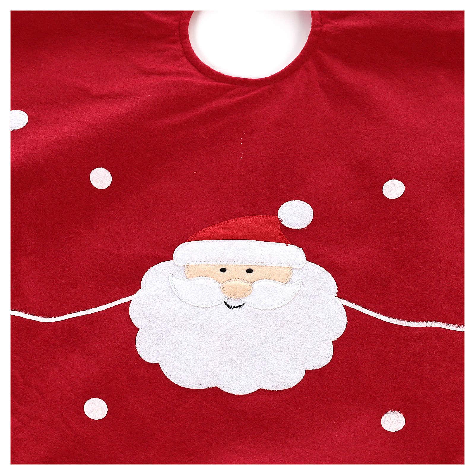 Cobertura para base de árvore Pai Natal diâm. 90 cm 3