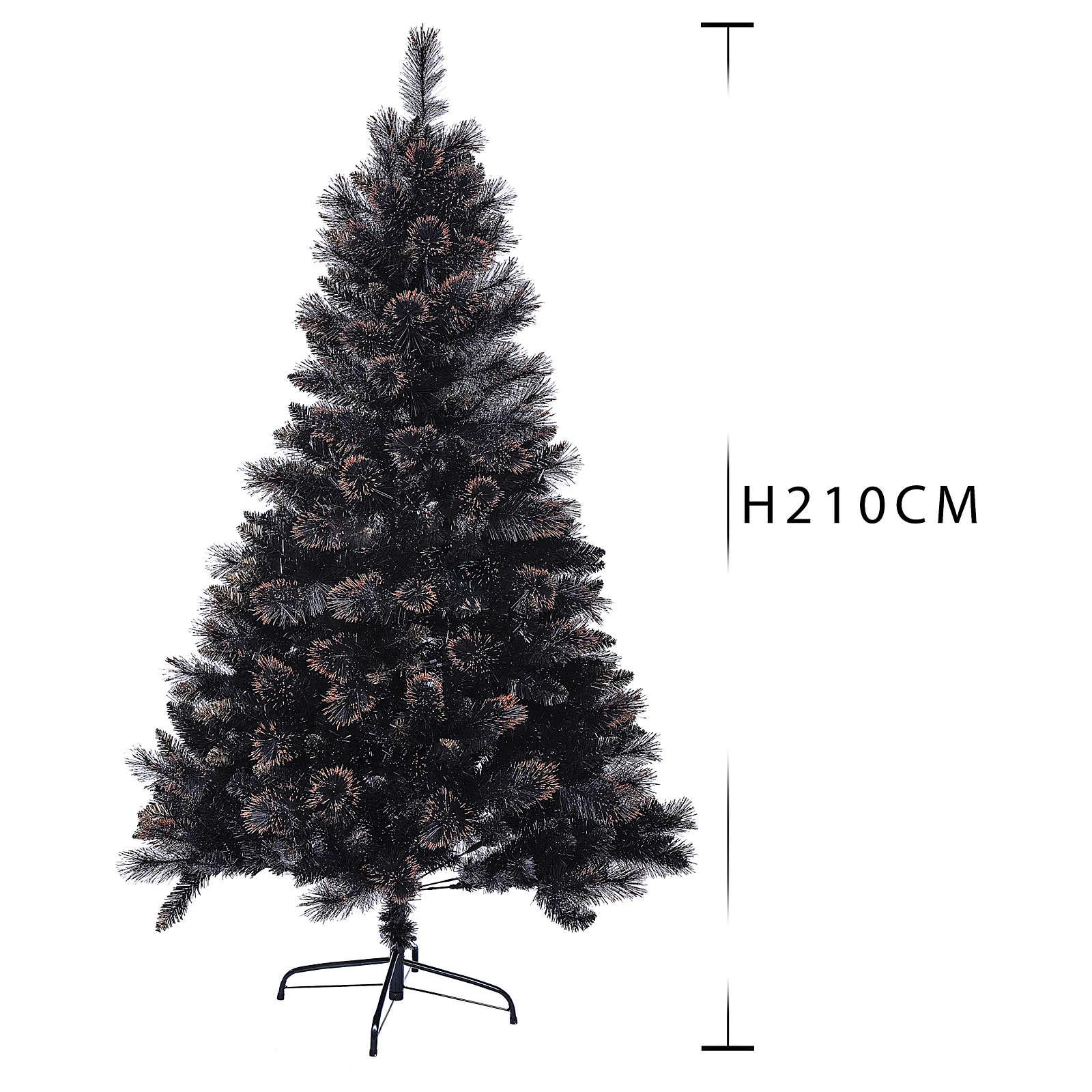 Árbol de Navidad Quartz Gris 210 cm con matices 3