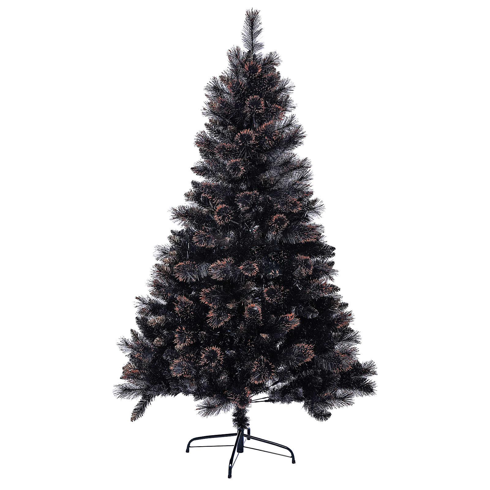 Sapin de Noël Quartz Fumé 210 cm avec nuances 3