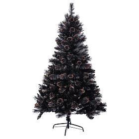 Sapin de Noël Quartz Fumé 210 cm avec nuances s1
