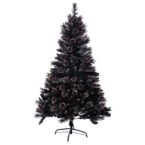 Sapin de Noël Quartz Fumé 210 cm avec nuances 1