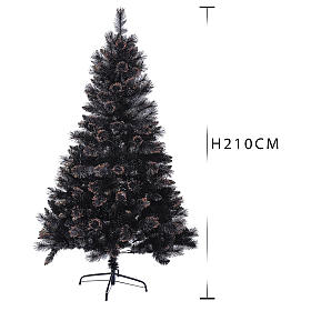 Albero di Natale Quartz Fumè 210 cm con sfumature s3