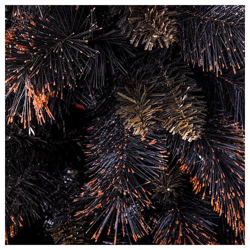 Árvore de Natal Quartz Fumé 210 cm com matizes 2